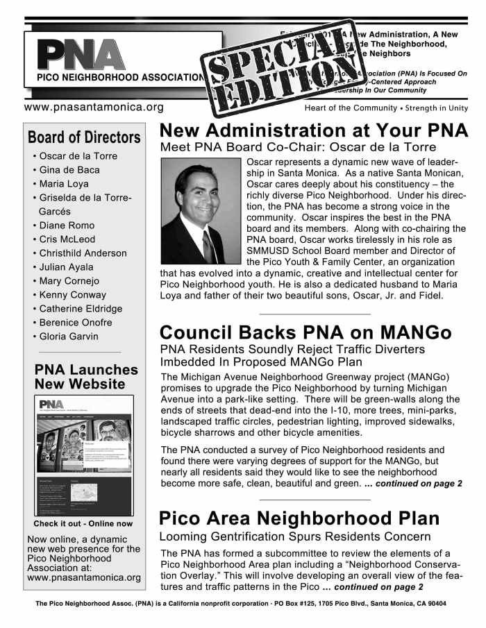 PNA-newsletter-Front-page